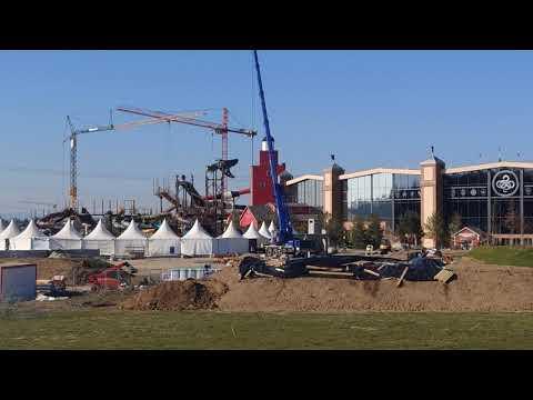 Bauarbeiten an Svalgurok (Europa Park) und was sonst so los ist in Rust (06. März 2021)