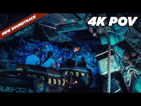 Abenteuer Atlantis - 4K POV - New Soundtrack 2020 - Europa-Park