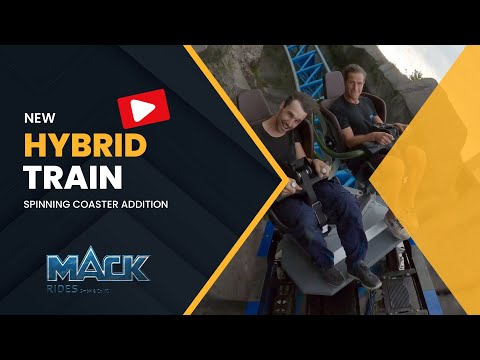 HybridTrain: Spinning Seat Upgrade for MACK Coaster