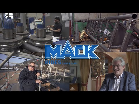 MACK Rides - Achterbahnen made in Germany - Reportage (English Subtitles)