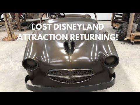 ABANDONED DISNEYLAND Attraction - Midget Autopia Returning to Marceline!