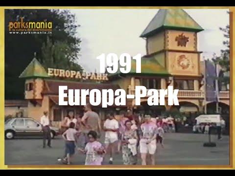 EUROPA PARK 1991: Historical video