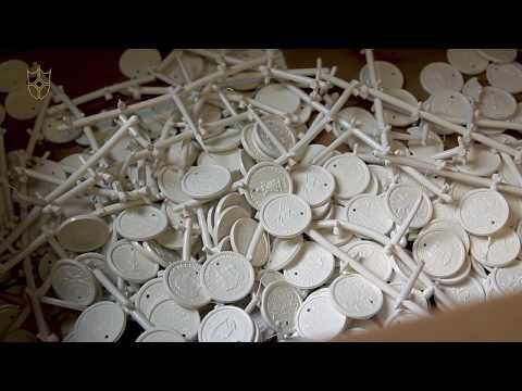 Uit het archief: De creatie van de Ezeltje Strekje-muntjes
