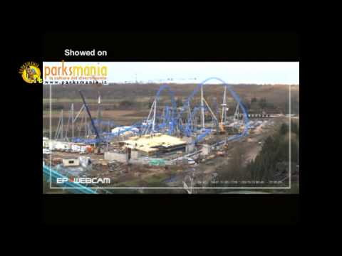 Europa Park: BLUE FIRE making of