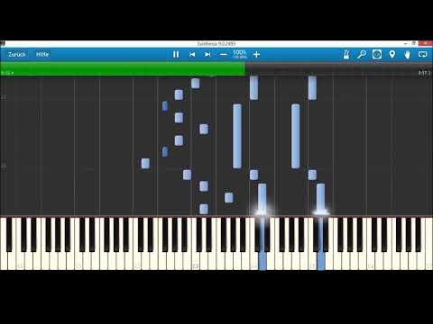 Piano Tutorial - Voletarium Countdown (Europa Park)