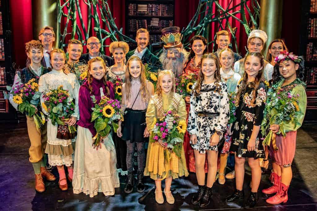Tournee Sprookjessprokkelaar de musical in Rotterdam feestelijk van start