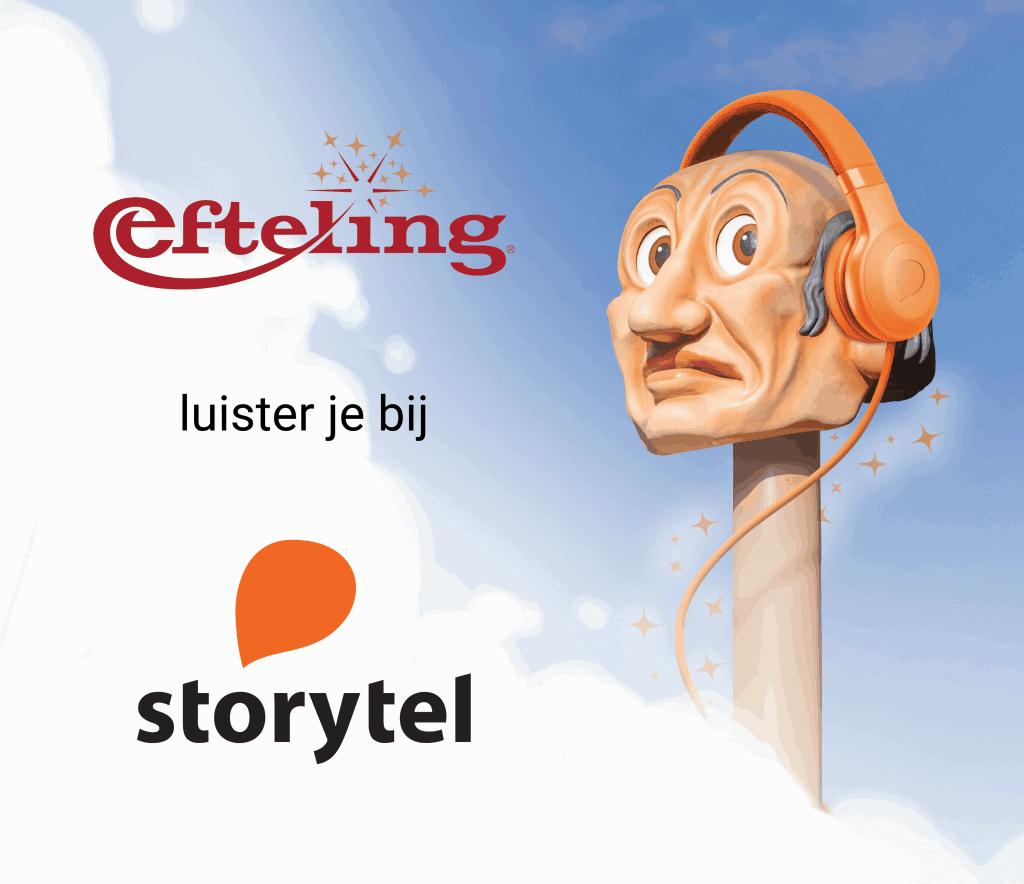 De mooiste verhalen van de Efteling nu te beluisteren via Storytel
